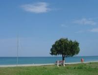 μοναχική παραλία
